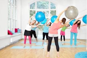 Pilates med stor boll pilates complete