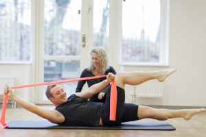 obliques med flexband pilates complete