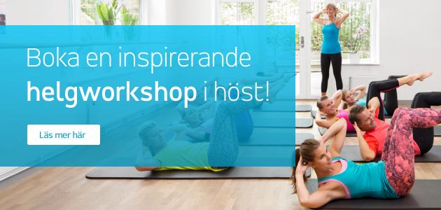 Boka en inspirerande helgworkshop hos Pilates Complete i höst!