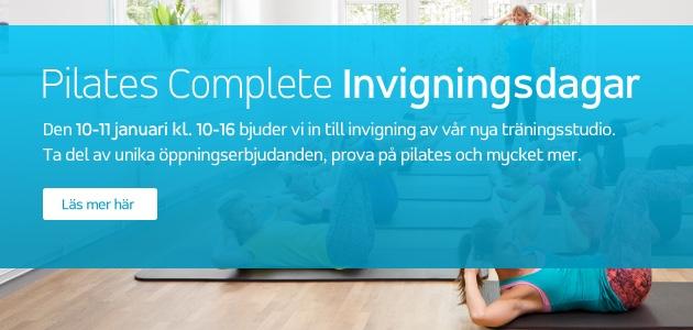 Pilates Complete Invigningsdagar