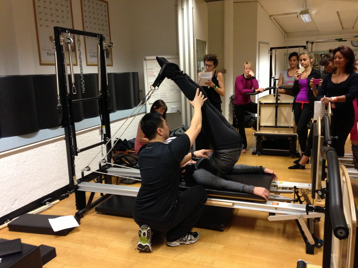 athletic reformer level 4 pilates complete