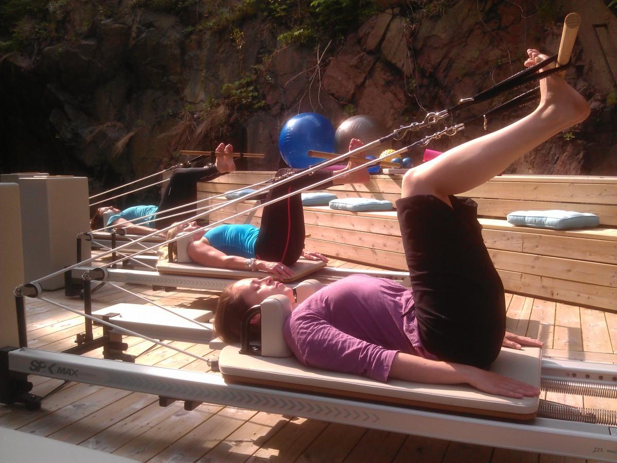 utomhusträning pilates complete