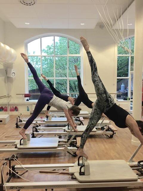 cirque du soleil tränar på pilates complete