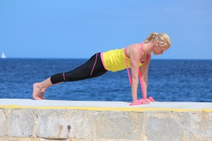 pilates complete push up