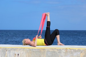 pilates complete hamstring stretch