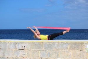 pilates complete double leg stretch