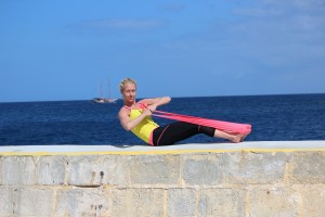 pilates complete flexband twist