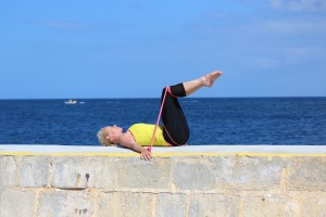 pilates complete supine spine twist
