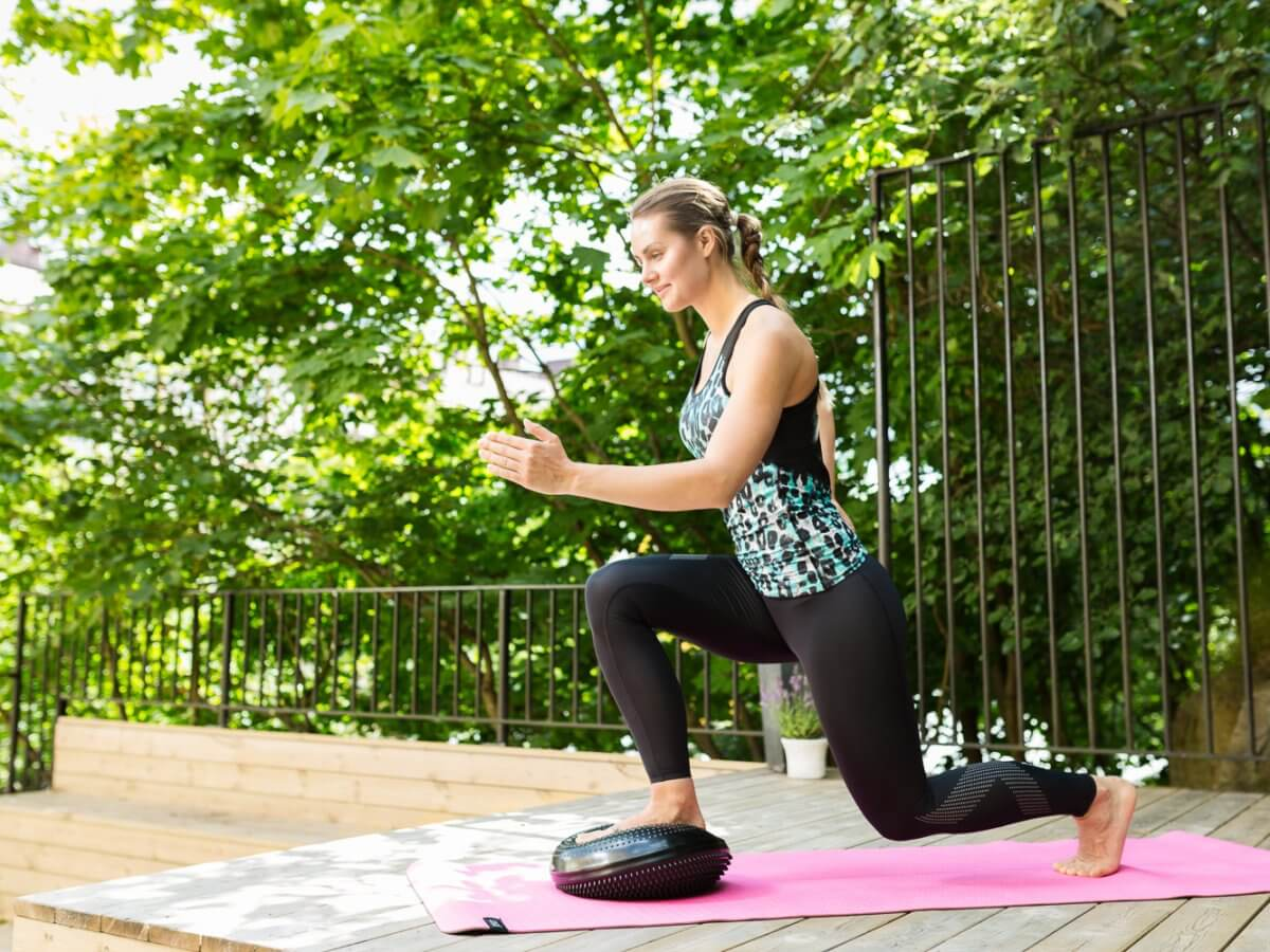 pilates för löpare